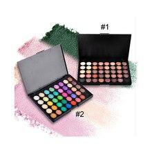 Matte Eyes Shadow Makeup Sets 40 Color Smoky Eyeshadow Glitter Earth Palette Make up Nude Shade Metallic Shimmer Color Palette
