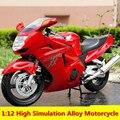 1:12 высокая моделирования сплава мотоцикл, HONDA CBR1100XX, Супер Blackbird, сплав Моделирование Мотоцикл, бесплатная доставка