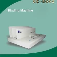 220 В/50 Гц 100 Вт sk5000 горячий клей швейная машина идеальным Термальность Бумага связующего металла Электрический книги чайник толщина 50 мм