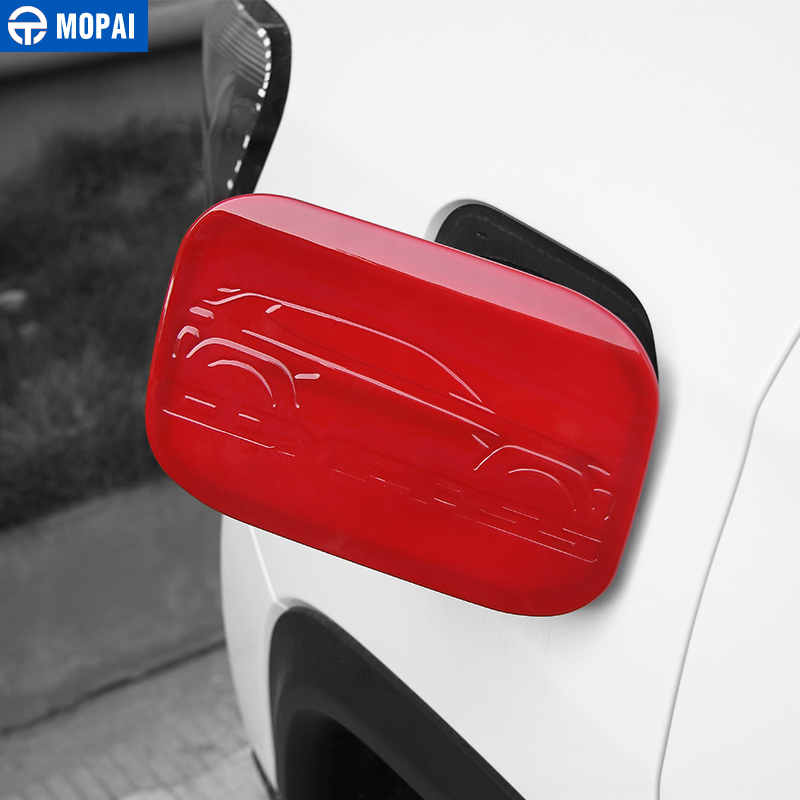 Image 4 - MOPAI ABS Car Exterior Oil Gas Fuel Tank Cap Cover Decoration Trim Stickers for Jeep Compass 2017 Up Car Accessories Styling-in Tank Covers from Automobiles & Motorcycles