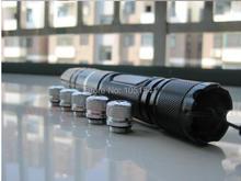 Buy online NEW 450nm 20w 20000mw Hot high power focusable blue laser pointer flashlight burning match cutting burn cigarettes