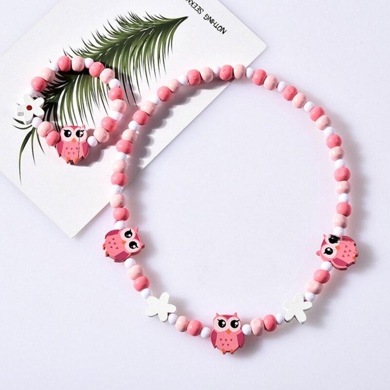 1 Set Kinder Schmuck Cartoon Halskette Armband Kinder Candy Farbe Mädchen Geschenke