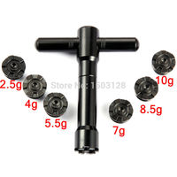 6x Weights Scews Kit and Wrench for G25 I25 fit Driver Fairway Wood Hybrid Free Shipping