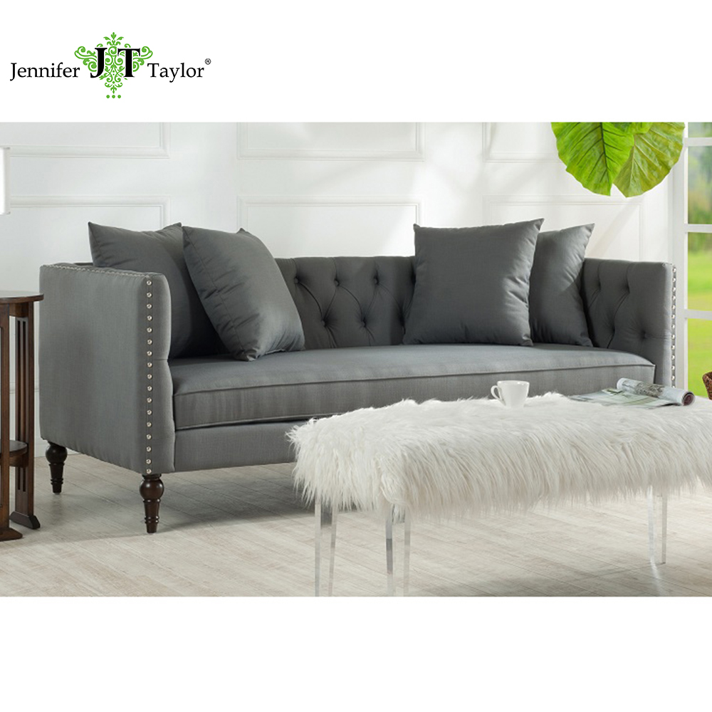 Jennifer Taylor, Stanbury Grey Sofa,82 1/2W x 35 1/2D x 30 1/2H купить
