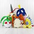 Kawaii большой размер 30-50 см Digimon Gabumon Tanemon Patamon Tunomon Pyocomon плюшевые игрушки