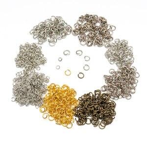100pcs/lot Gold Silver Loop 5