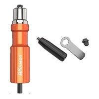 Electric Insert Rivet Nut Gun Pop Riveting Drill Tool CordlessAdaptor Nozzle Riveted Pneumatic Blind Rivet Adapter