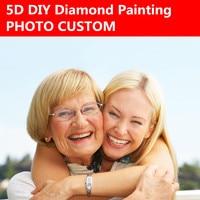 DIY Diamond Custom Photo Custom Personal Photo Custom Make Your Own Diamond Painting Full Embroidery