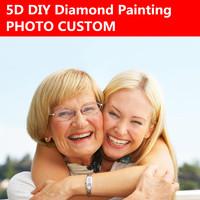 DIY Diamond Custom Photo Custom Personal Photo Custom Make Your Own Diamond Painting Full Embroidery