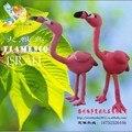 De Israel nuevo comercio exterior de felpa juguete Pink flamingo bird marioneta muñeca de peluche de 35 cm directo de fábrica wholesalesDecoration calidad