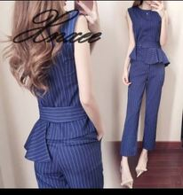 2019 summer new womens ladies temperament small fragrance casual two-piece suit