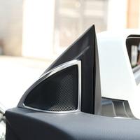 Top Quality Car Interior Accessories For Mercedes Benz CLA GLA Class Door Speaker Sequin Trim