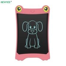 NEWYES 8,5 дюймов цифровой рисунок, графика Pad lcd письмо планшет электронный почерк доска памятка с стило для подарка для детей