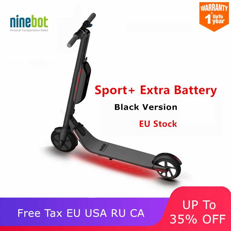 Ninebot originais KickScooter ES4/ES2 2 Inteligente Scooter Elétrico roda longa dobrável hover board Pontapé Scooter hoverboard skate