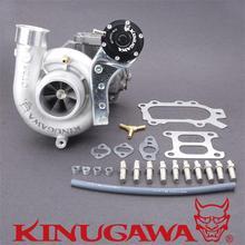 Турбокомпрессор kinugawa для TOYOTA 3SGTE Celica ST185 ST205 Двойной вход CT26 для Garrett 60-1
