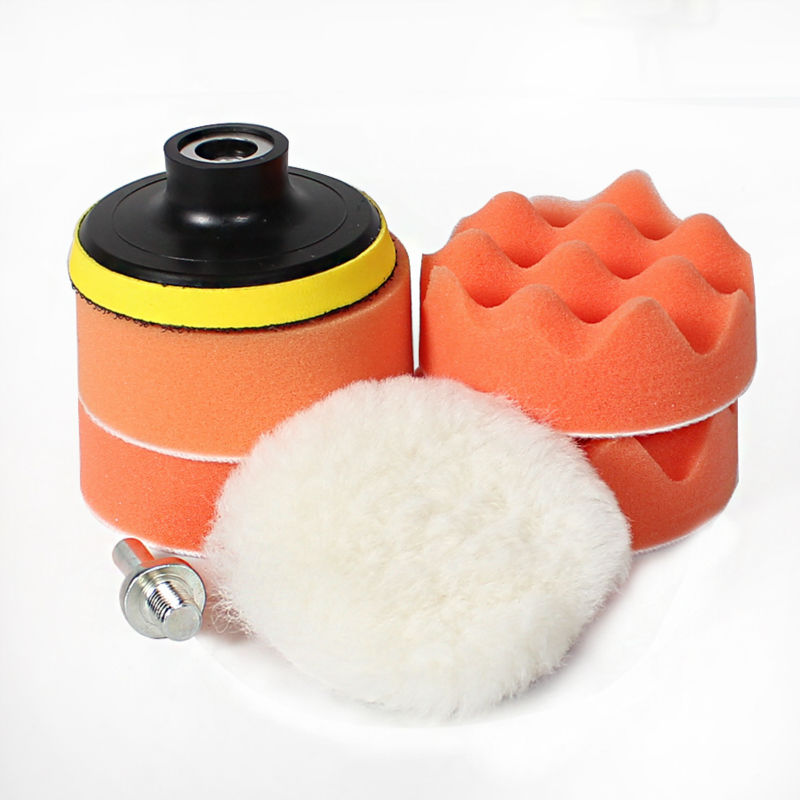 "7pcs 3"" car polishing pad set Polishing Buffer Waxing ..."