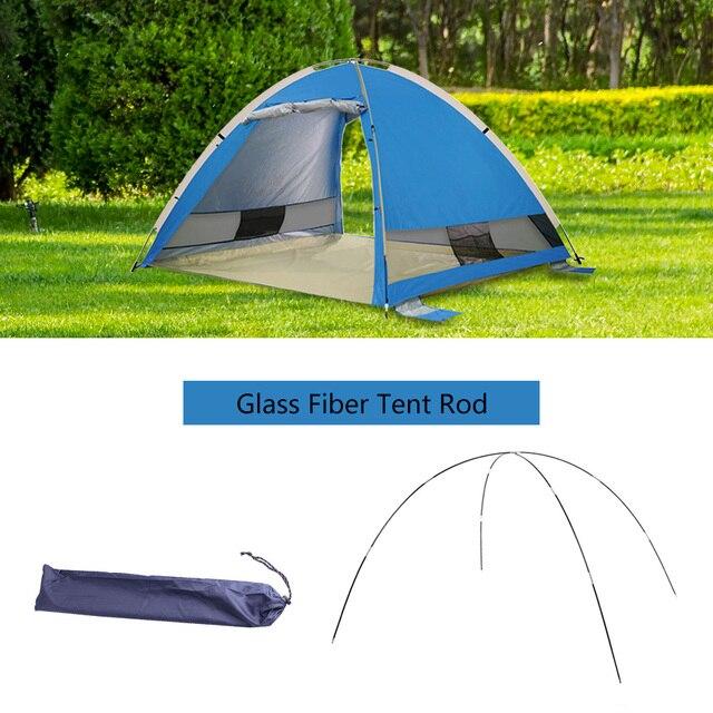 Lixada التخييم 7 مللي متر قوس ل عمود الخيمة الألياف الزجاجية التخييم اكسسوارات أقطاب في الهواء الطلق التخييم معدات الخيام استبدال القطب
