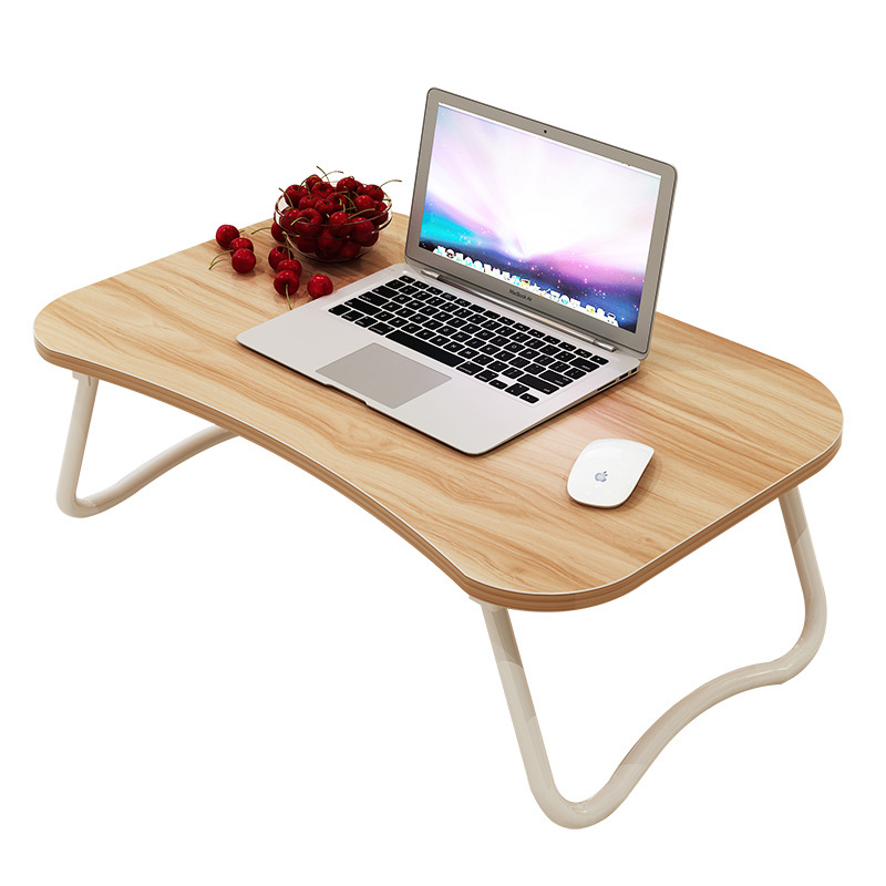 Laptop bed table with simple dormitory lazy desk on bed desk deskable - Futon portatil ...