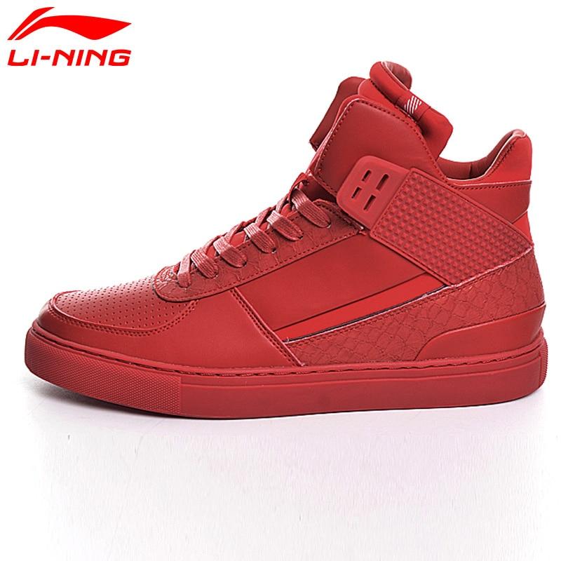 Li Ning Original Men's Sports Life Walking Shoes Breathable Classic Leisure Li Ning Sports Shoes Sneakers GLKM021 original li ning men professional basketball shoes