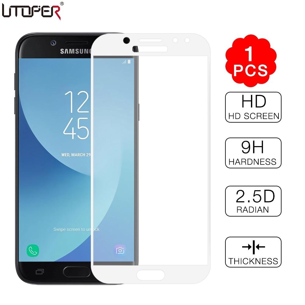 Tempered Glass For Samsung Galaxy J7 2017 J7 Pro Eurasian Version For Samsung J3 J5 J7 2017 J 330 530 730 F Screen Protector