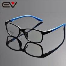 Grande promoção moda unissex masculino feminino quadrado acetato quadro lente clara óculos quadros 4 cores de grau ev1334