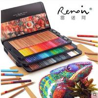 Marco Renoir Fine Art Professional Oily Colored Pencils 100 Color Lapis De Cor Painting Pencil Colored
