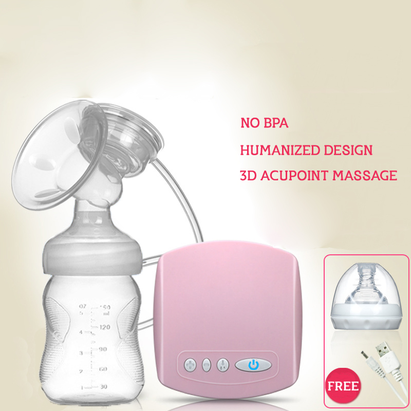 Brand Electric Breast Pump With Milk Bottle Natural Suction Enlarger Kit Feeding Bottle BPA free Breast