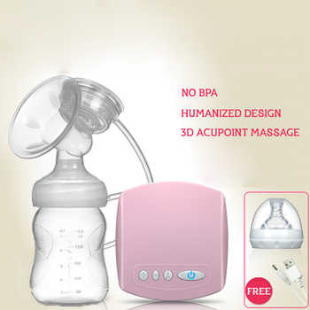 Brand Electric Breast Pump With Milk Bottle Natural Suction Enlarger Kit Feeding Bottle BPA free Breast Pump Milksucker - DISCOUNT ITEM  0% OFF All Category