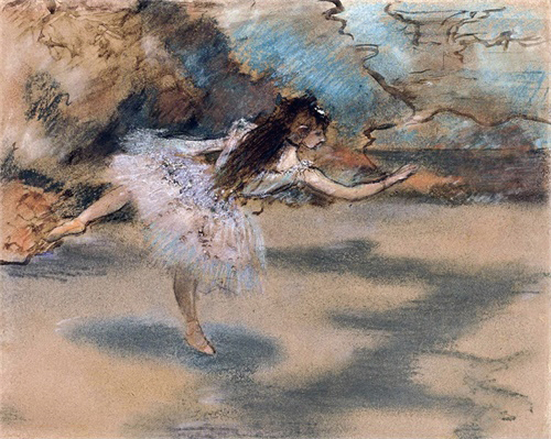 Dancer by Edgar Degas Canvas Painting Calligraphy and Poster Prints Living Room House Wall Decor Art Home Decoration Picture in Painting Calligraphy from Home Garden
