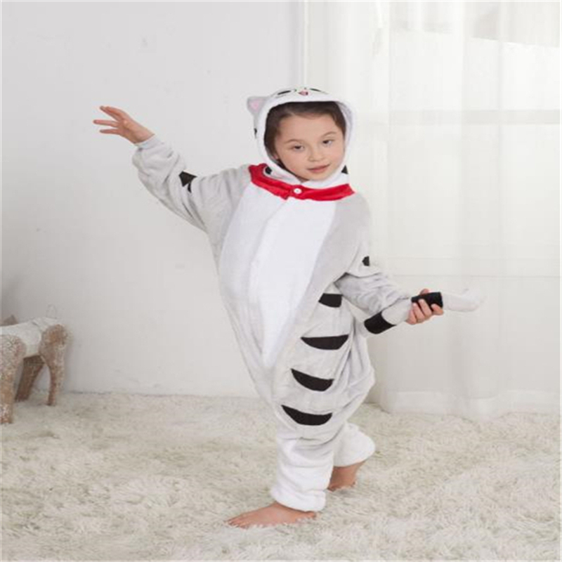 Various Animal Colors Children's Costumes Cartoon Animals Children's Siamese Pajamas Children's Gifts