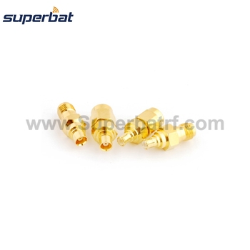 Superbat SMA-MCX Female to Male RF Adapter Kit SMA to MCX 4 type RF Coaxial Connector kit