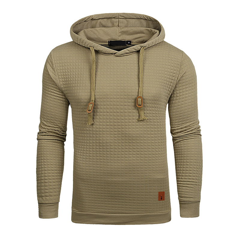 2018 Autumn Winter New Europe and America Men Classic clothing Pullovers Long Sleeve Hoodie Solid Color Hooded Sweatshirt Jacket