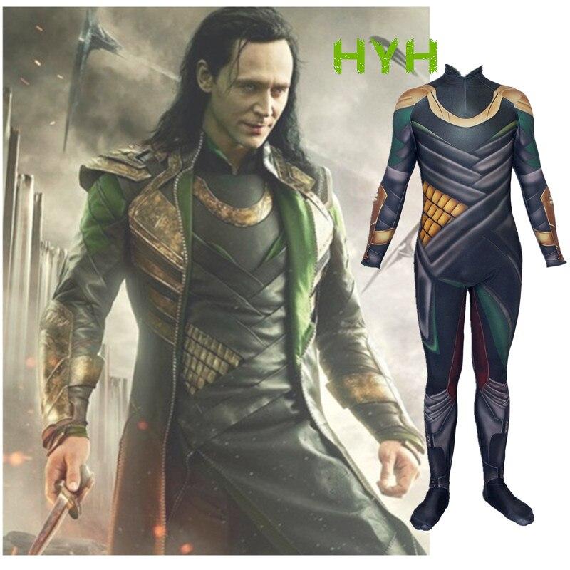 New Avengers 3: Infinity War loki Cosplay Costume Zentai Bodysuit Suit Jumpsuits Halloween Costumes for women/men