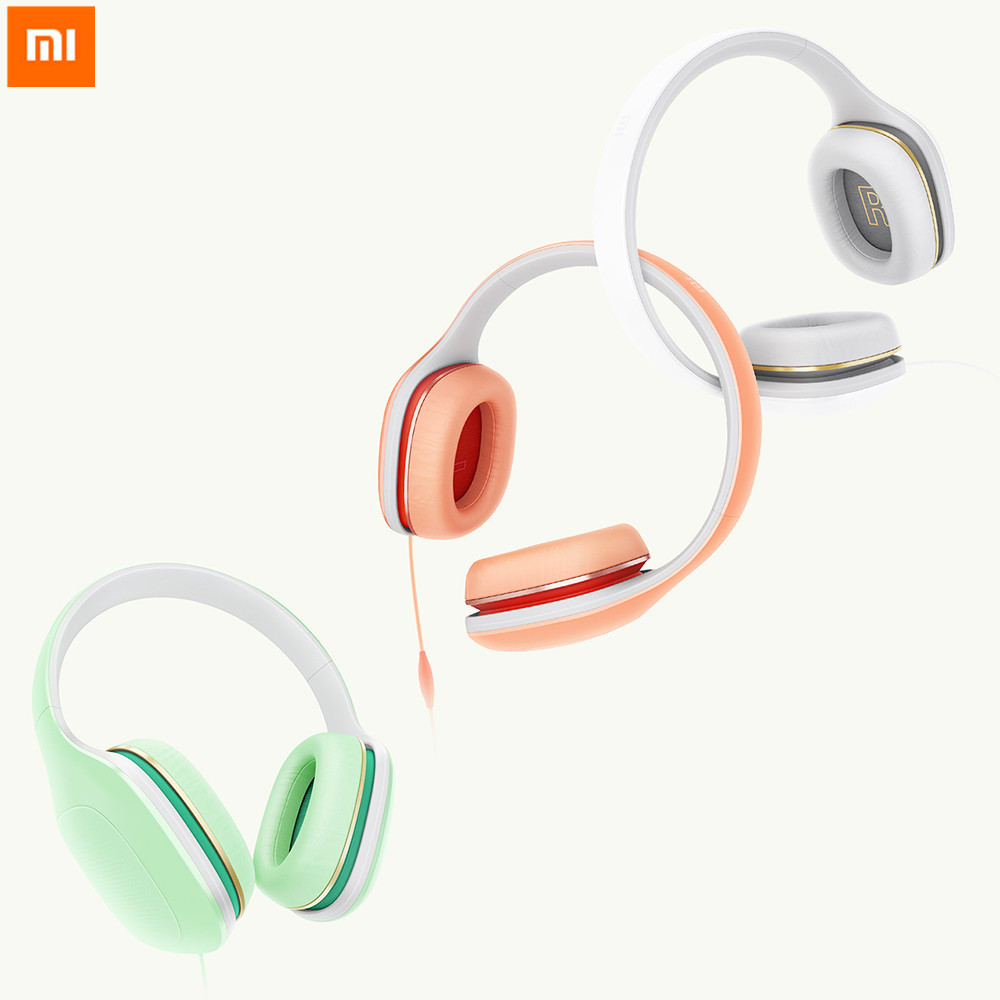 Original Xiaomi Mi Headphone Youth Colorful Version Noise Cancelling Wired Headset Earphones For Phones phones