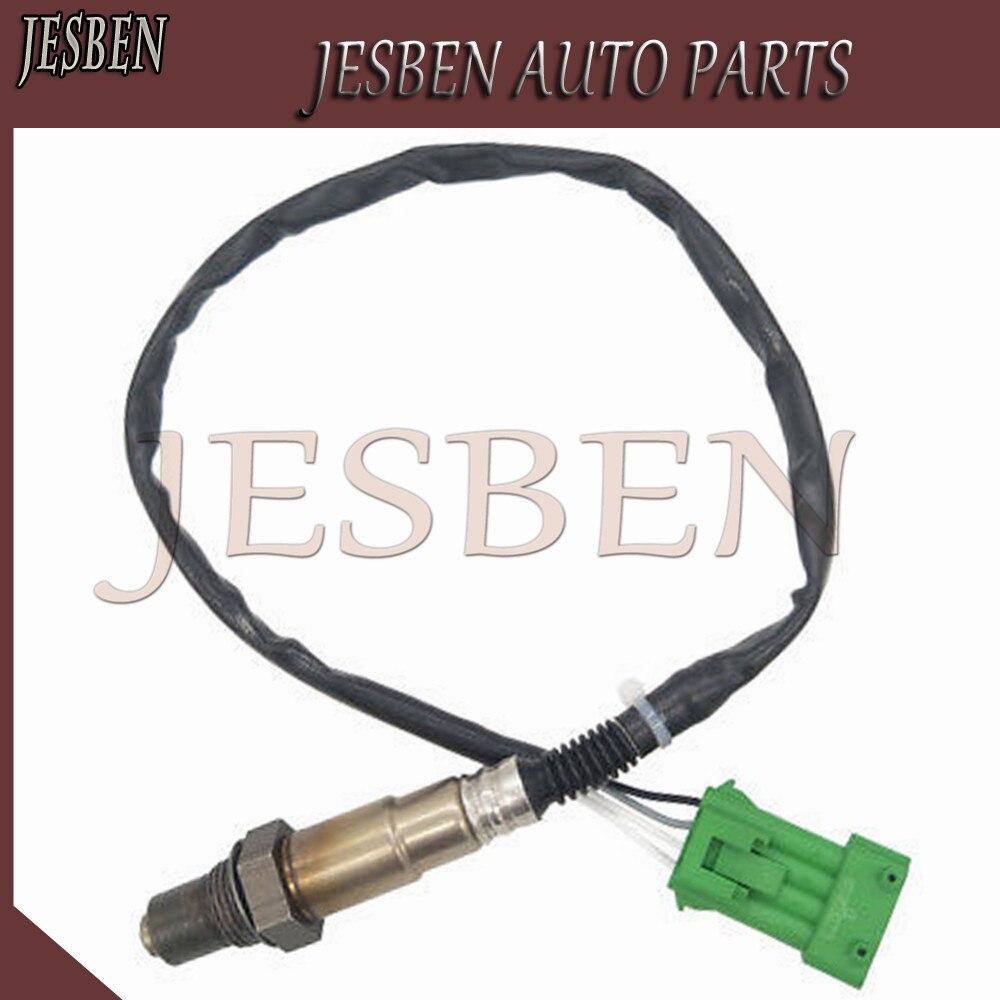 0258006027 Sensor De Oxigênio O2 apto para Citroen Berlingo C2 C3 C4 C5 C6 C8 Peugeot 206 306 307 407 Renault clio NO #1618Z6 1628HN