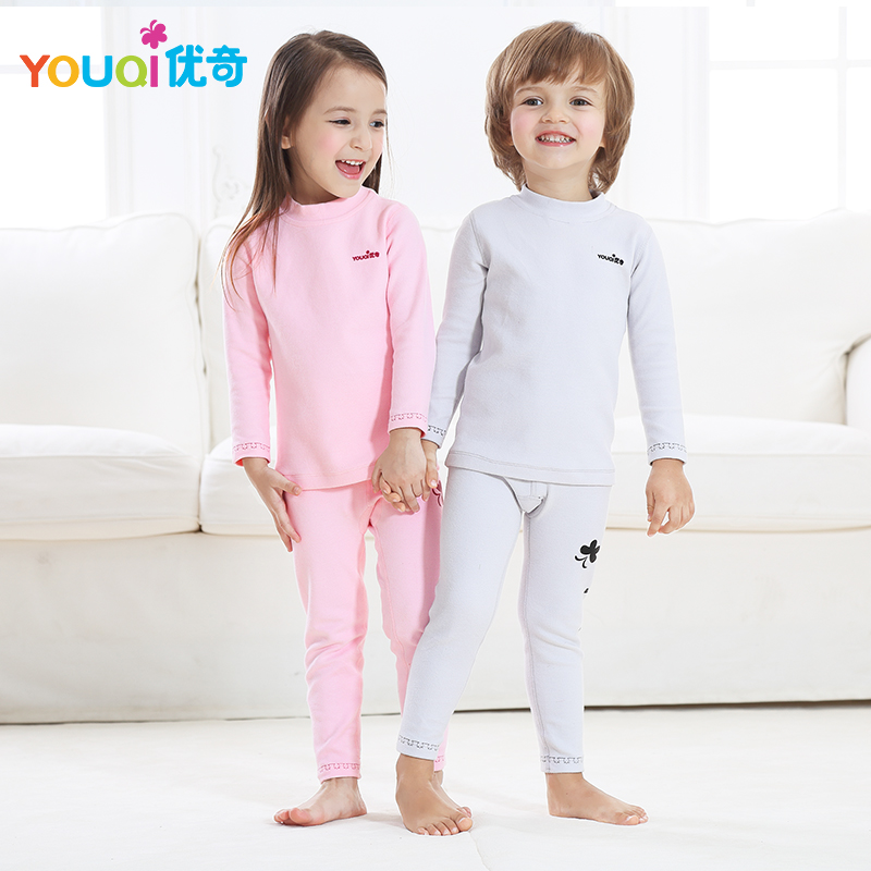 YOUQI Kids Clothes Girls Children Clothing For Boys Outfits Top Pants Suit Spring Autumn Winter Underwear Cartoon Baby Clothes autumn winter boys girls clothes sets sports suits children warm clothing kids cartoon jacket pants long sleeved christmas suit