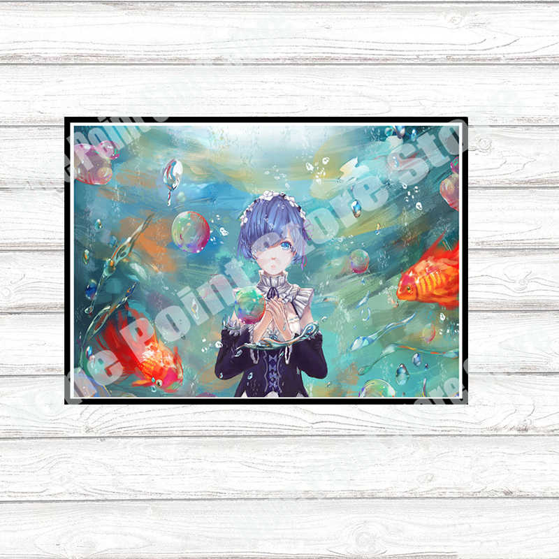 Relife в другой мир от нуля re бумага с покрытием Плакат кафе Творческий обои украшение интерьера 42*30 см