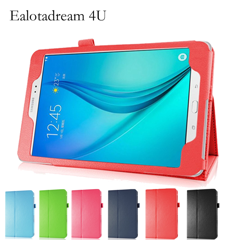 Solid Coque For Samsung Tab A 8.0 T350 T355 P350 Case Flip Smart Stand PU Funda for Samsung Galaxy Tab A 8.0 T350 T355 P350 Case