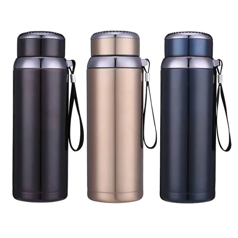 800ml Stainless Steel Outdoor Thermos Travel Insulated Mug Potable Vacuum Cup
