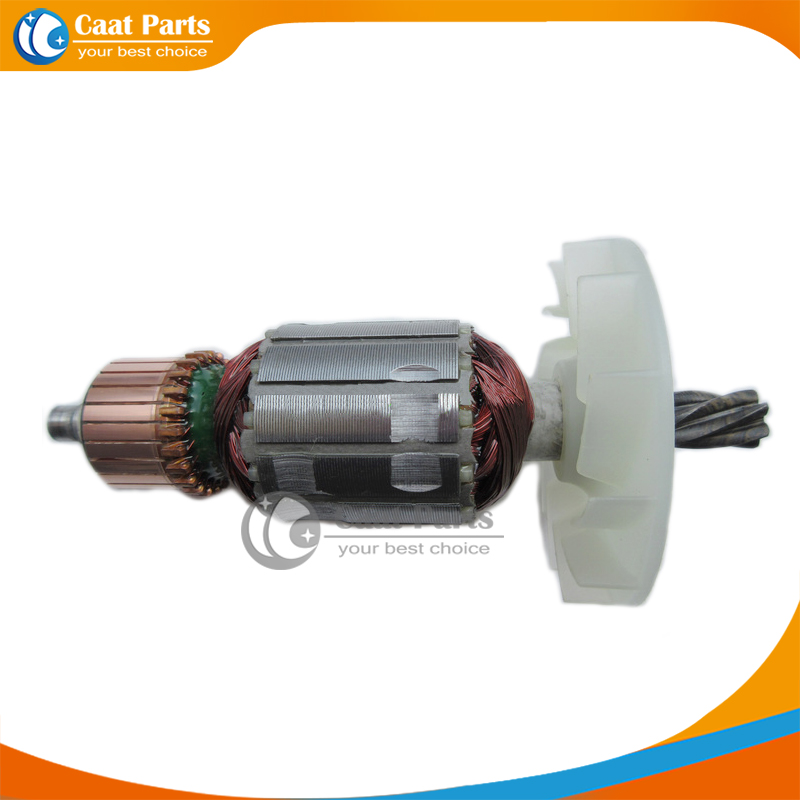 Free shipping!  AC 220V 6-Teeth Drive Shaft Electric Hammer Armature Rotor for Hitachi H41SA, High quality ! ac 220v 11 teeth drive shaft electric hammer armature rotor for makita 9218sb brand new high quality free shipping