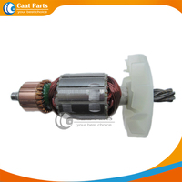 Free Shipping AC 220V 6 Teeth Drive Shaft Electric Hammer Armature Rotor For Hitachi H41SA High