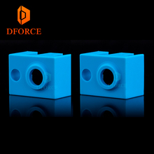 trianglelab  Super high quality cartridge heater bock silicone socks V6 for PT100 heated block v6 hotend nozzle
