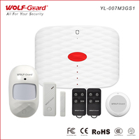 Wolf-Guard DIY 3G GSM Wireless Home Alarm Security System SOS IOS Andriod APP Control PIR Motion Detector Door Window Sensor
