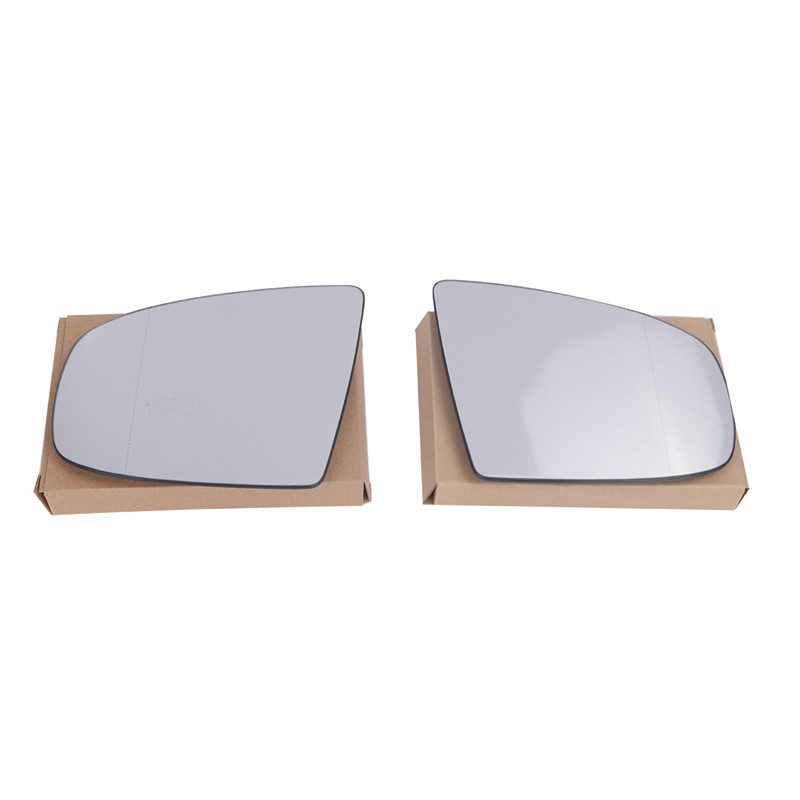 ФОТО 2pcs/pair High Quality Door Heated Wing Mirror For BMW Clear Glass X5 X6 M Sport E70 SUV E71 E72 2008-2014 //