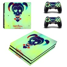 Harley Quinn and Joker PS4 Pro Skin Sticker Vinyl Decal Sticker