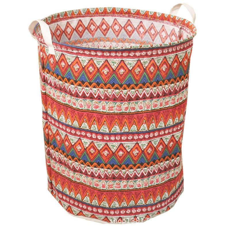 40 cm x 50 cm À Prova D' Água Titular Multi-cor Receber Saco cesto de roupa Suja Dobrar Roupa Suja Armazenamento De Ternos recipiente