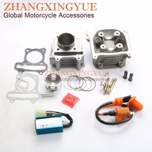 50mm Big Bore Kit Performance Coil AC CDI for GY6 50cc Upgrade 100cc 139QMB Chinese Scooter