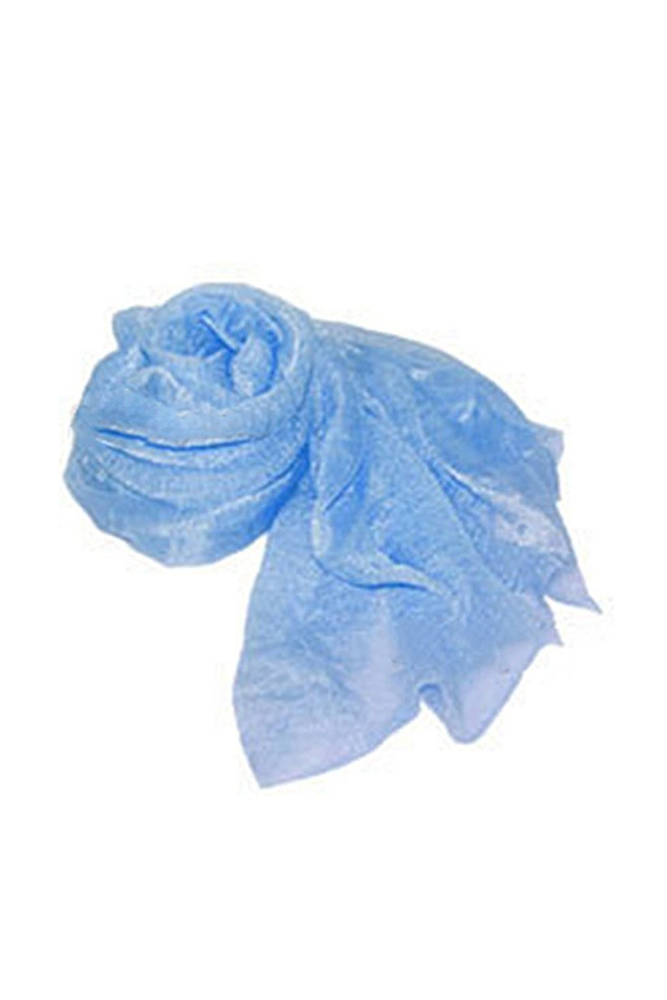 SAF-Women's Fashion Candy Colour Soft   Scarf     Wrap   Shawl Stole Light Blue