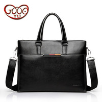 Men 's leather zipper handbag men' s multi functional computer bag selling cross section cowhide business briefcase