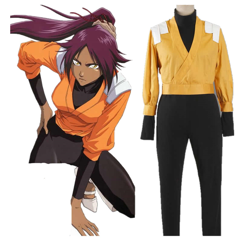 Beath javel Shihouin Yoruichi 2th Cosplay Costume adulte dessin animé personnage Costumes